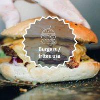 burger frites usa